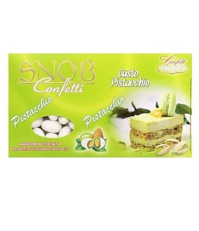 confetti snob 500 gr pistacchio