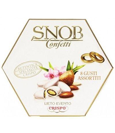 confetti incartati bianchi snob- 500 gr