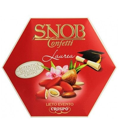 confetti Snob rossi gusti assortiti- 500 gr