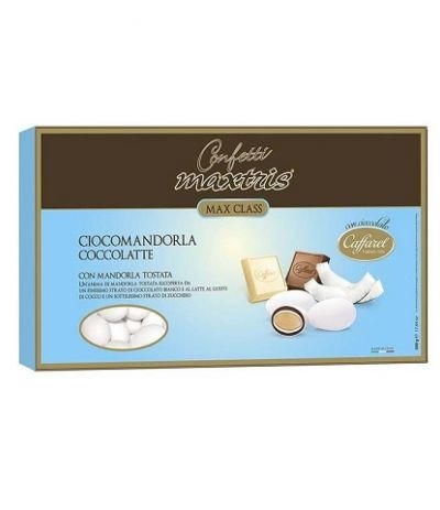 confetti maxtris/caffarel cocco latte