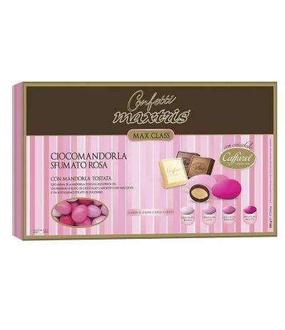 confetti maxtris/caffarel sfumato rosa500gr