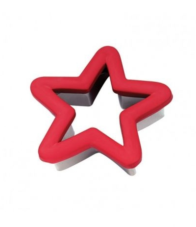 tagliabiscotto plastica stella