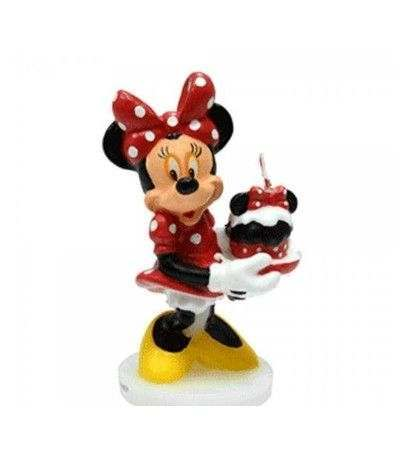 Candelina Compleanno Minnie- 10 cm
