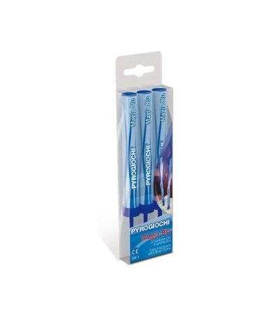 candelotti blu singoli- 3 pezzi