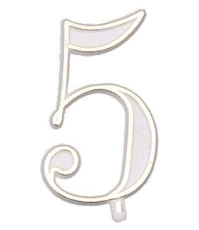numerino plastica 5- 4,5 cm