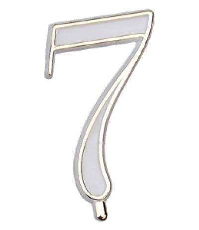 numerino plastica 7- 4,5 cm