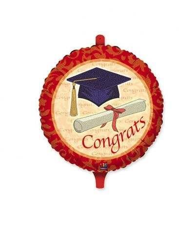 palloncino mylar laurea congratulazione- 45 cm