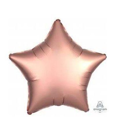 palloncino stella mylar cipria- 45 cm