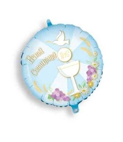 palloncini mylar comunione celeste