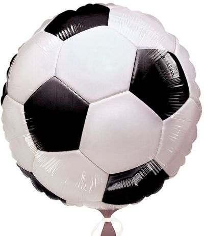palloncino mylar pallone calcio