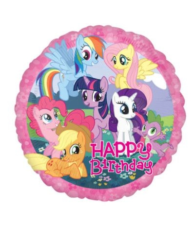 palloncino mylar little pony- 45 cm