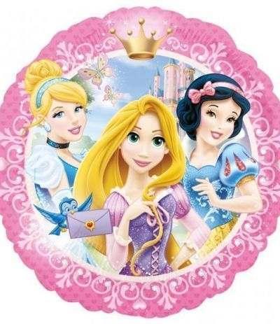 Palloncino Mylar Principesse Disney- 43 cm