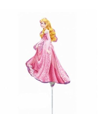 palloncino mylar mini shape principessa- 30 cm