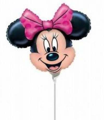 Palloncino Mylar Mini Shape Minnie- 30 cm