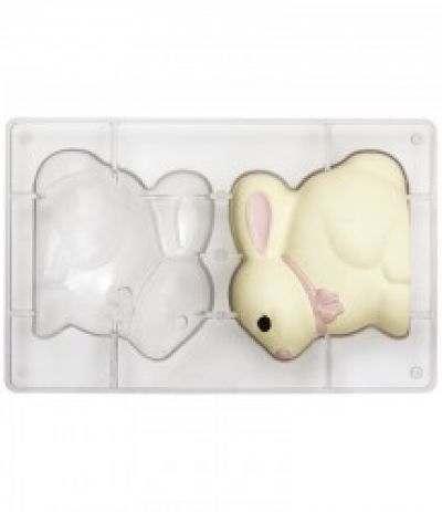stampo cioccolato coniglietto 130 x 110 cm