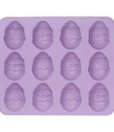 stampo silicone 12 uova decorate wilton