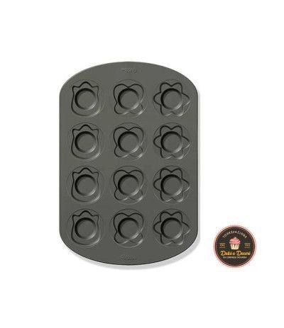 piastra antiaderente muffin primavera- 12 pezzi
