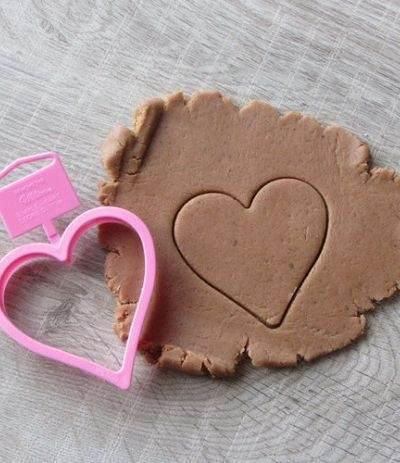 Tagliapasta plastica cuore - Wilton