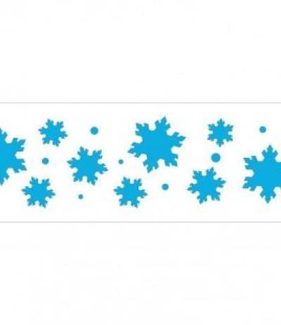 Stencil Frozen Star