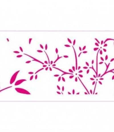 stencil decora natura 10x30