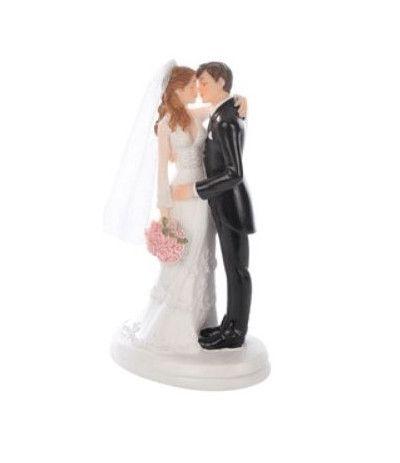 sposini topper bacio romantico- 18 cm