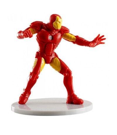 iron man plastica- 8 cm