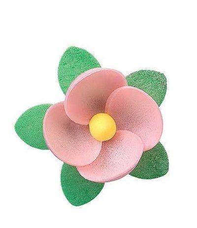 fiore rosa- 8 pezzi