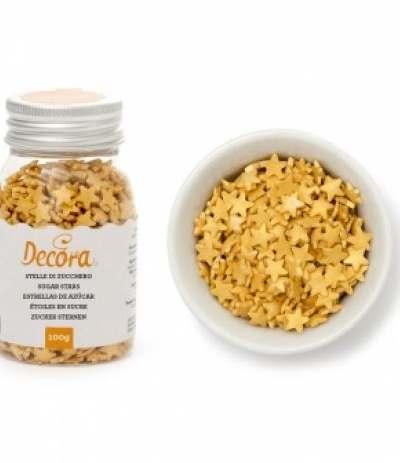 stelline oro di zucchero in confezione- 60 gr