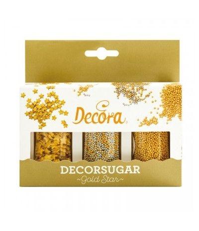 kit 3 zuccherini oro