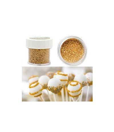 zucchero glitterato oro 9 gr