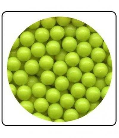perle di zucchero verde perlate grandi