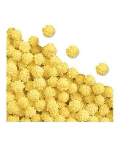 mimose di zucchero gialle crispo