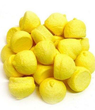 marshmallow palle da golf mini giallo
