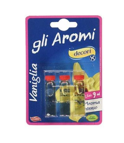 Decorì Aroma Vaniglia - 3 fiale da 9 ml