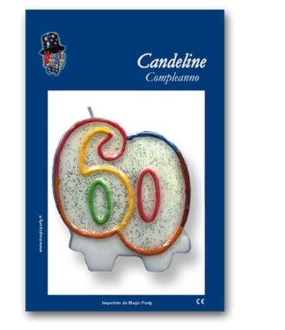 candelina glitterata 30- 7 cm