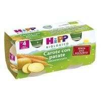 HIPP BIO OMOGENEIZZATO CAROTE PATATE 80G 2PZ
