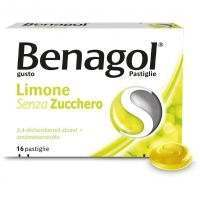 BENAGOL 16PASTIGLIE AL LIMONE SENZA ZUCCHERO