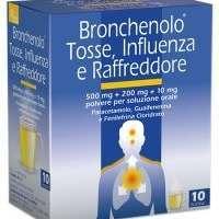BRONCHENOLO TOSSE INFLUENZA RAFFREDDORE 10BS