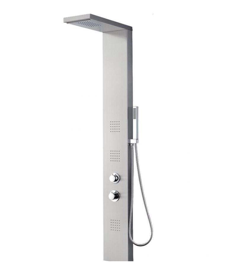 Colonna doccia Polare multifunzione termostatica mercurio