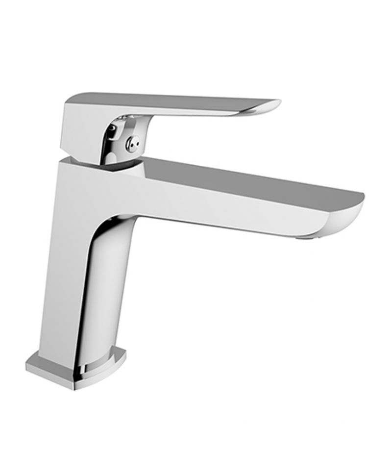 Miscelatore lavabo Teorema Edge cromato