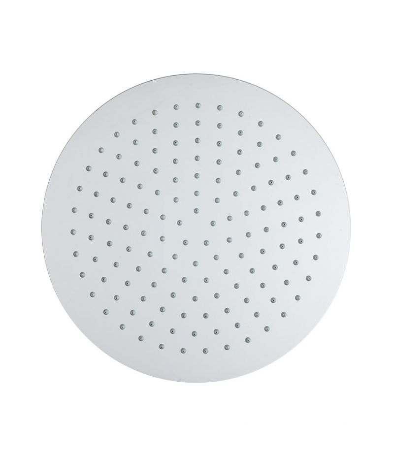 Soffione doccia rotondo 30 cm ultrasottile in acciaio INOX