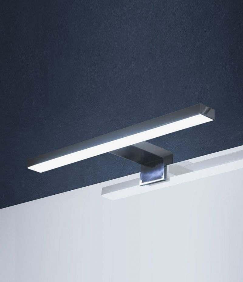 Lampada LED 30 cm applique per installazione a bordo specchio