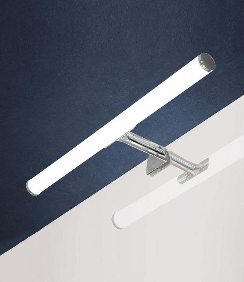 Lampada LED 40 cm applique per installazione a bordo specchio