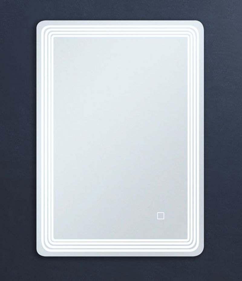 Specchio LED 70x90 cm stondato reversibile con sensore Touch