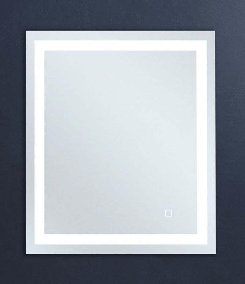 Specchio LED 60x70 cm reversibile con sensore Touch