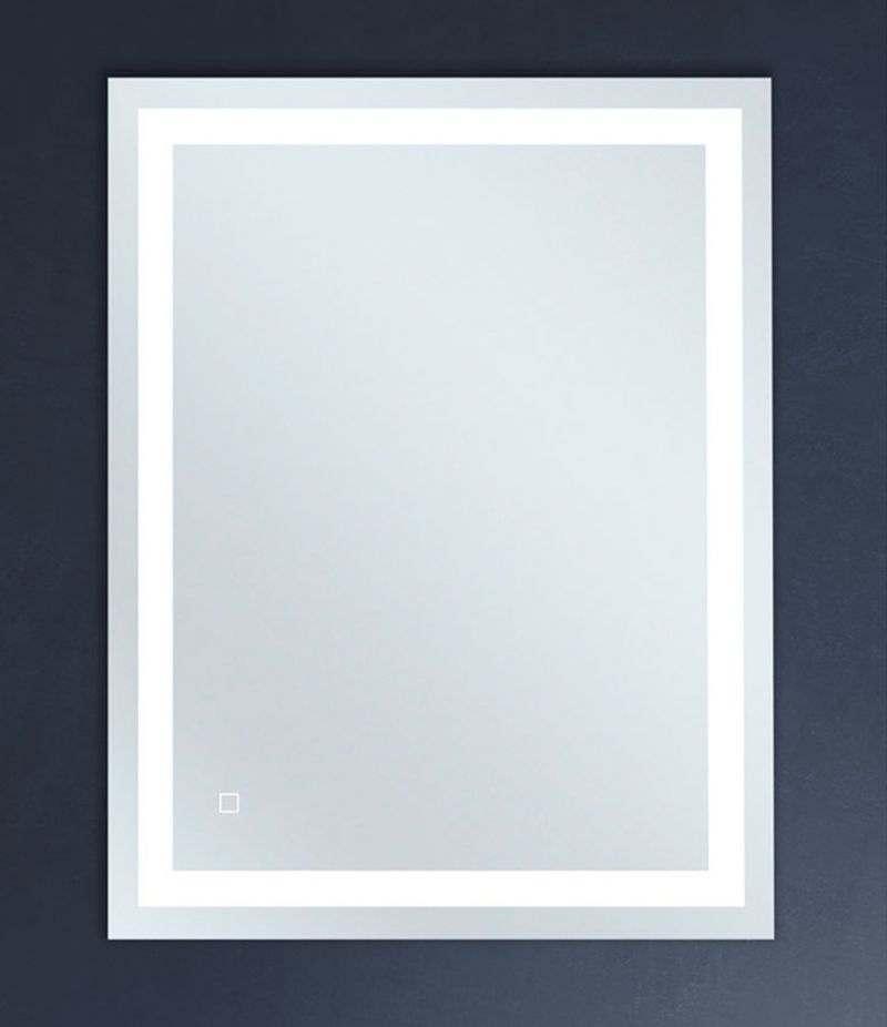 Specchio LED 70x90 cm reversibile con sensore Touch