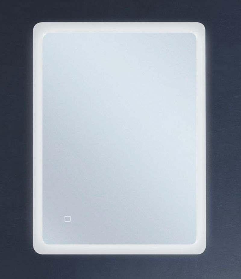 Specchio LED 60x80 cm stondato reversibile con sensore Touch