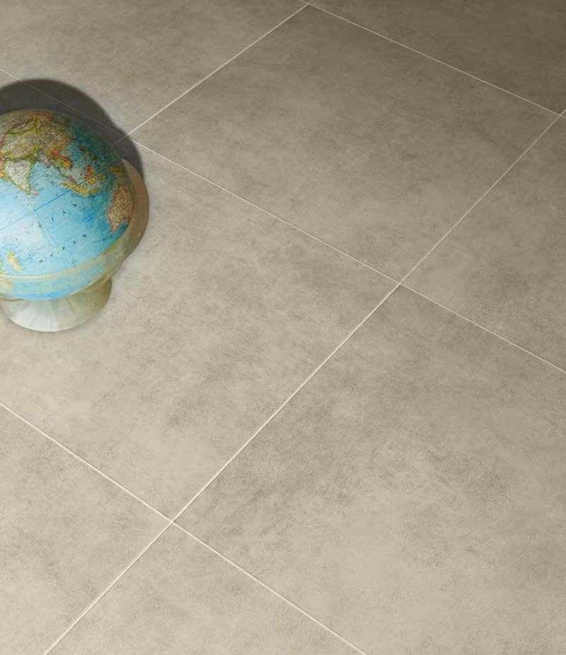 Gres Porcellanato BETON TAUPE 75x75 cm rettificato effetto cemento