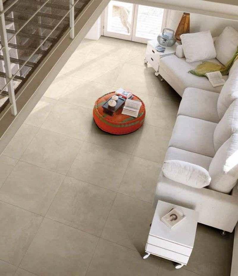 Gres Porcellanato EMOTION TAUPE 80x80 cm rettificato effetto cemento