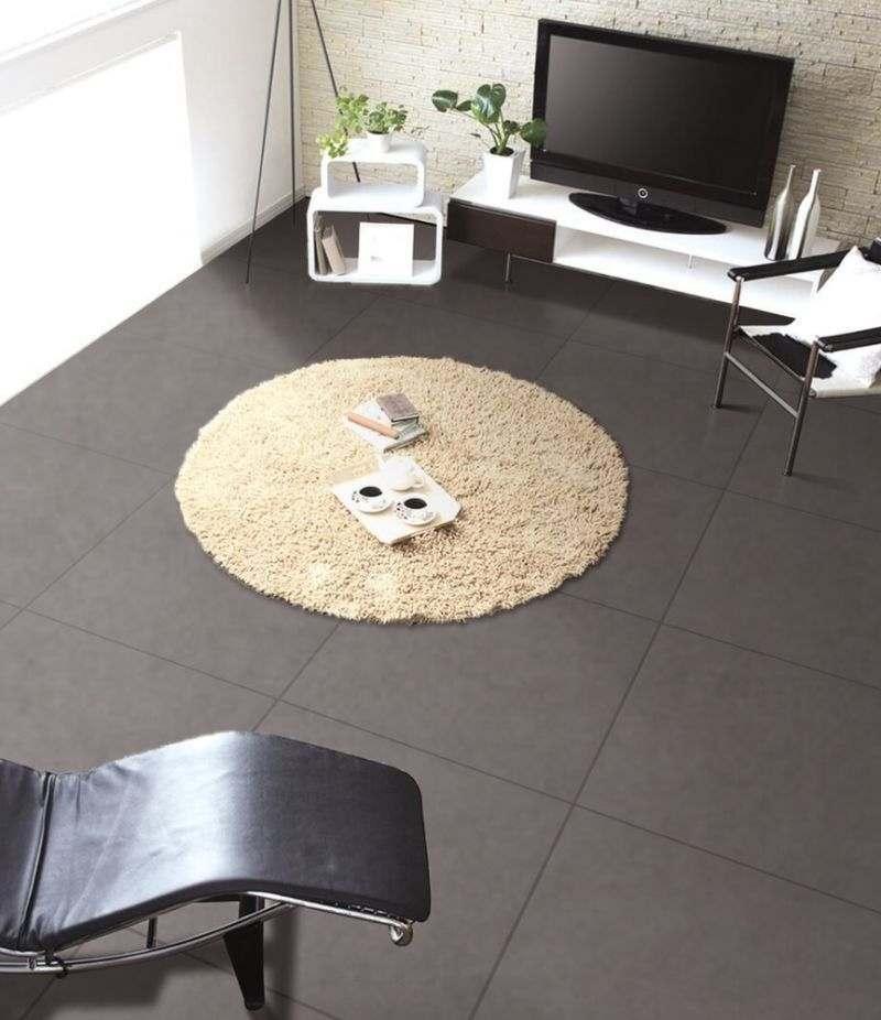 Gres Porcellanato SCOPE DARK GREY 60x60 cm rettificato effetto cemento